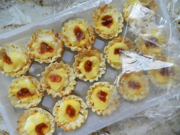 cheese puff cups